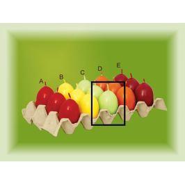 Lima Aromatické vajíčko svíčka zelená C 40 x 60 mm