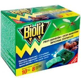 Biolit Elektrický odpařovač proti komárům s polštářky 10 nocí + náhradní náplň 10 kusů Hubiče, lapače a odpuzovače hmyzu