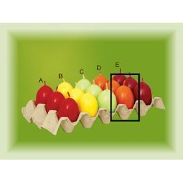 Lima Aromatické vajíčko svíčka oranžová D 40 x 60 mm