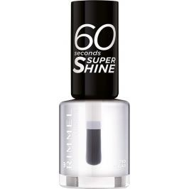 Rimmel London 60 Seconds Super Shine Nail Polish lak na nehty 740 Clear 8 ml Laky na nehty