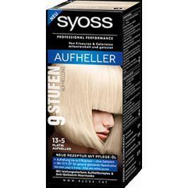 Syoss Lightening Blond Professional barva na vlasy 13-5 Intenzivní Platinový zesvětlovač Platinum Lightener Drogerie