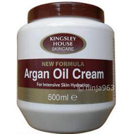 Kingsley House Arganový olej tělový krém 500 ml