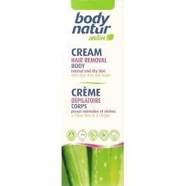 Body Natur Sensitive Aloe Vera a Arganový olej depilační tělový krém pro celé tělo 100 ml Přípravky na depilaci a epilaci