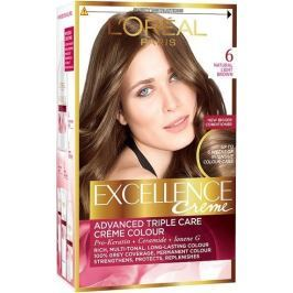 Loreal Paris Excellence Creme barva na vlasy 600 Tmavá blond