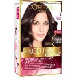 Loreal Paris Excellence Creme barva na vlasy 300 Tmavě hnědá Drogerie