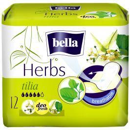 Bella Herbs Tilia intimní aromatizované vložky s křidélky 12 kusů