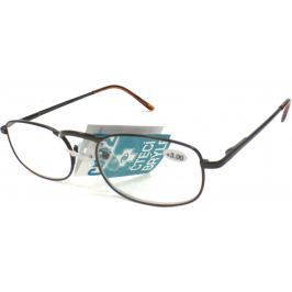 Berkeley Čtecí dioptrické brýle +1,0 hnědé kov CB02 1 kus MC2005 Brýle na čtení