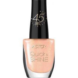 Astor Quick & Shine Nail Polish lak na nehty 101 Delicate Morning 8 ml