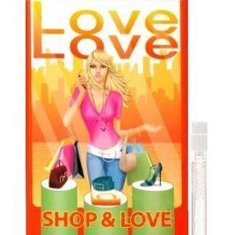 Love Love Shop & Love toaletní voda pro ženy 1,6 ml s rozprašovačem, Vialka Dámské parfémy