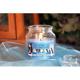Lima Aroma Dreams Eukalypt aromatická svíčka sklenička s víčkem 120 g