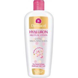 Dermacol Hyaluron Cleansing Micellar Lotion čisticí micelární voda s kyselinou hyaluronovou 400 ml Pleťové vody a tonika