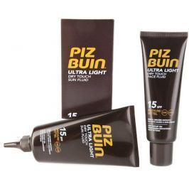 Piz Buin Ultra Light SPF15 Fluid na opalování 150 ml + SPF15 Fluid na opalování pleti 50 ml