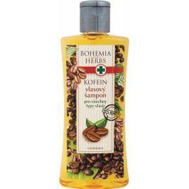Bohemia Gifts & Cosmetics Kofein a Olivový olej šampon na vlasy 250 ml Šampony