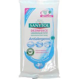 66d4c0e54 Kde koupit Sanytol Antialergenní dezinfekce univerzální čistící utěrky  jednorázové 24 kusů