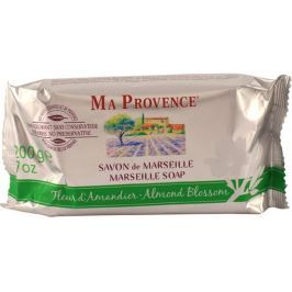 Ma Provence Bio Mandlové květy pravé Marseille toaletní mýdlo 200 g Mýdla