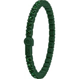 Ops! Objects Tennis Bracelet náramek OPSTEW-14 tmavě zelená