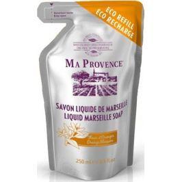 Ma Provence Bio Květ pomeranče tekuté mýdlo náhradní náplň 250 ml