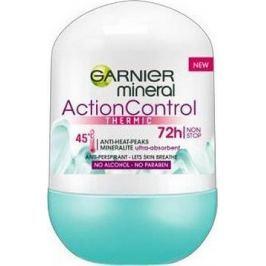 Garnier Mineral Action Control Thermic 72h kuličkový antiperspirant deodorant roll-on pro ženy 50 ml Deodoranty a antiperspiranty