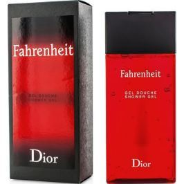 Christian Dior Fahrenheit sprchový gel pro muže 200 ml Sprchové gely