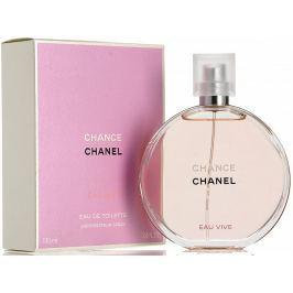 Chanel Chance Eau Vive toaletní voda pro ženy 100 ml Dámské parfémy