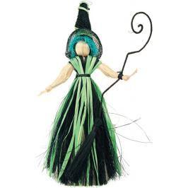 Čarodějnice s modrými vlasy 20 cm Drogerie