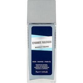 Enrique Iglesias Deeply Yours Man parfémovaný deodorant sklo pro muže 75 ml Deodoranty a antiperspiranty