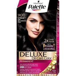 Schwarzkopf Palette Deluxe barva na vlasy 900 Sytý přirozeně černý 115 ml Drogerie