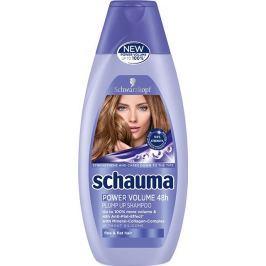 Schauma Power Volume 48h šampon pro větší objem jemných a zplihlých vlasů 400 ml Šampony