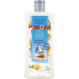 Bohemia Gifts & Cosmetics Med a Kozí mléko krémová koupelová pěna 500 ml