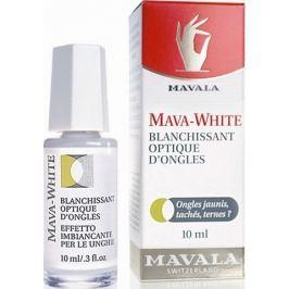 Mavala Mava-White ochranný bělicí lak pro nevýrazné a nebo zažloutlé nehty 10 ml