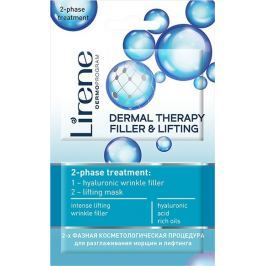 Lirene Dermal Therapy Filler & Lifting 2 fázová ošetřující maska 2 x 6 ml