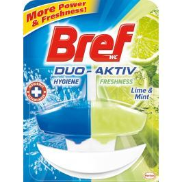 Bref Bref Duo Aktiv Limetka a Máta tekutý Wc blok komplet 50 ml