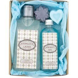 Bohemia Gifts & Cosmetics Pro dědečka koupelová lázeň 200 ml + sprchový gel 100 ml + ručně vyráběné mýdlo 2 x 30 g, kosmetická sada