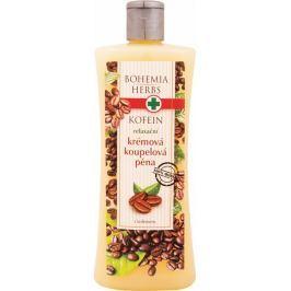 Bohemia Gifts & Cosmetics Kofein relaxační krémová koupelová pěna 500 ml