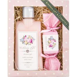 Bohemia Gifts & Cosmetics Victorian Style sprchový gel 200 ml + ručně vyráběné mýdlo 30 g, kosmetická sada