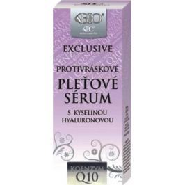 Bione Cosmetics Exclusive & Q10 s kyselinou hyaluronovou protivráskové pleťové sérum 40 ml