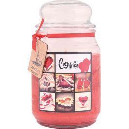 Bohemia Gifts & Cosmetics Love dárková vonná svíčka ve skle doba hoření 105-120 hodin 510 g
