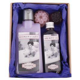 Bohemia Gifts & Cosmetics Ladies Spa pro dámy lázeň 200 ml + sprchový gel 100 ml + mýdlo 2 kusy, kosmetická sada