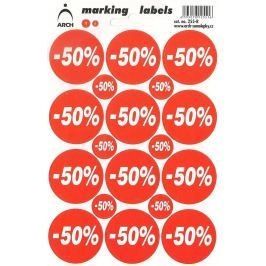 Arch Slevové etikety -50%