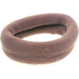 Vlasová gumička béžová 6 x 2 cm
