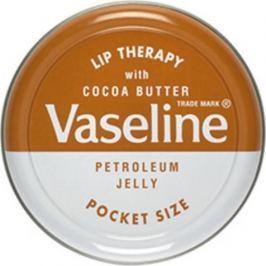 Vaseline Lip Therapy Cocoa Butter petrolejová mast na rty 20 g