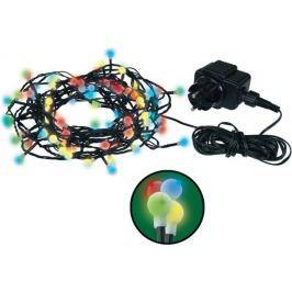 Emos Osvětlení vánoční barevné kuličky 48 m 480 LED + 5 m přívodní kabel