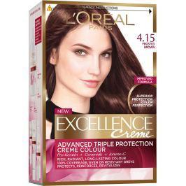 Loreal Paris Excellence Creme barva na vlasy 4.15 Hnědá ledová