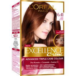 Loreal Paris Excellence Creme barva na vlasy 6.41 Hnědá oříšková