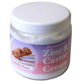 Healthpoint Zinc & Castor Cream zinková krémová mast na zklidnění, opruzeniny 225 g