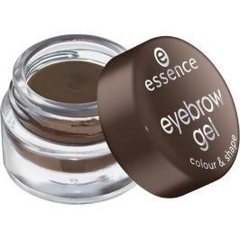 Essence Eyebrow Gel Colour & Shape gel na obočí 01 Brown 3 g