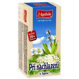 Apotheke čaj Při nachlazení s lípou 20 x 1,5 g