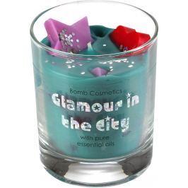 Bomb Cosmetics Půvabná měšťanka - Glamour in the City Candle Vonná přírodní, ručně vyrobena svíčka ve skle hoří až 35 hodin