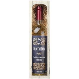 Bohemia Gifts & Cosmetics Chardonnay Pro tatínka bílé suché dárkové víno 750 ml