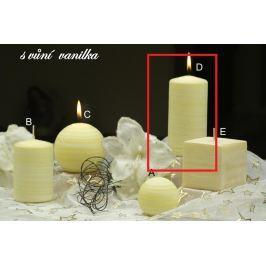 Lima Wellness Vanilka aroma svíčka válec 60 x 120 mm 1 kus